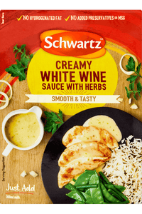 Schwartz Creamy White Wine Sauce with Herbs