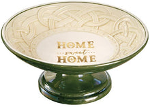 Load image into Gallery viewer, Home Sweet Home Celtic Pedestal Bowl
