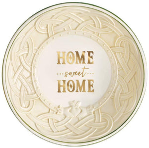 Home Sweet Home Celtic Pedestal Bowl