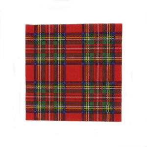 Royal Stewart Luncheon Napkins