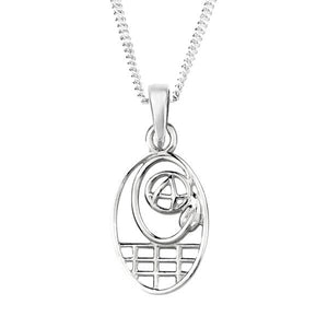 Mackintosh Silver Pendant