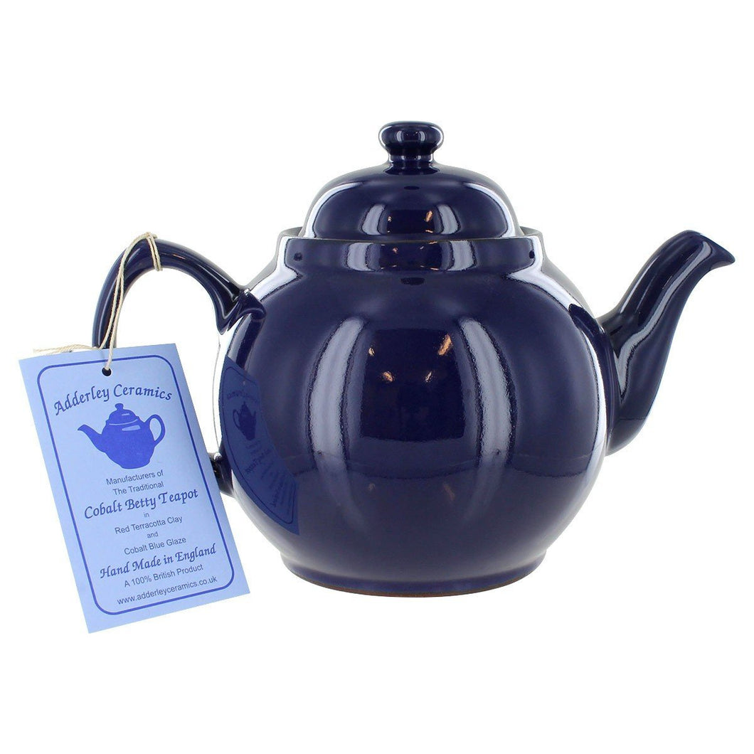 6 Cup/Cobalt Blue Betty Teapot