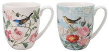 Load image into Gallery viewer, Bird Garden Mug Pair