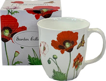 Load image into Gallery viewer, Garden Collection Poppies Java Mug