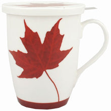 Load image into Gallery viewer, Memories of Canada Tea Mug with Infuser & Lid