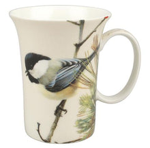 Load image into Gallery viewer, Bateman Lively Pair - Chickadees Crest Mug