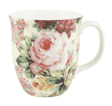 Load image into Gallery viewer, Pretty Chintzy Rose Bouquet Java Mug