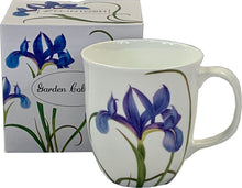 Load image into Gallery viewer, Garden Collection Blue Iris Java Mug
