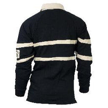 Load image into Gallery viewer, Guinness Black & Cream Traditional Rugby Shirt
