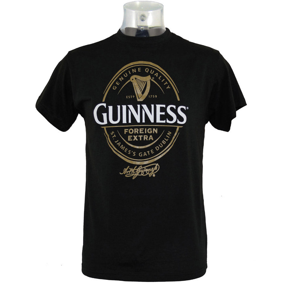 Guinness Black Label St. James Gate T-shirt