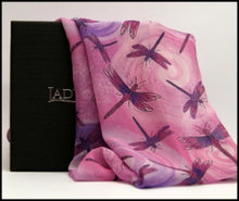 Load image into Gallery viewer, Ladycrow Scotland Chiffon Silk Scarf