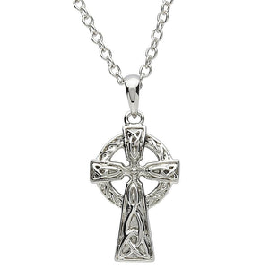 Platinum Plated Celtic Cross