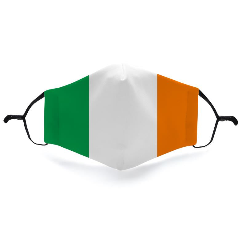 Ireland Reusable Fabric Face Mask