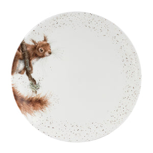 Squirrel Dinner Plate