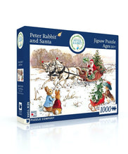 Load image into Gallery viewer, Peter Rabbit and Santa