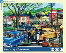 Load image into Gallery viewer, Saturday Afternoon Jigsaw Puzzle