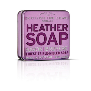 Soap in a Tin - Scottish Heather