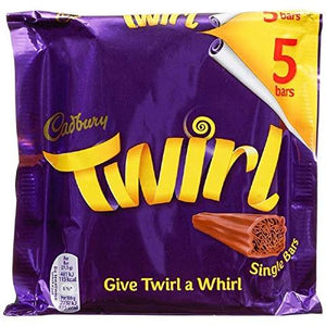 Cadbury Twirl Bar - 5 pack