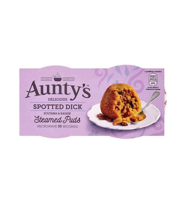 AUNTYS PUDDING SPOTTED DICK