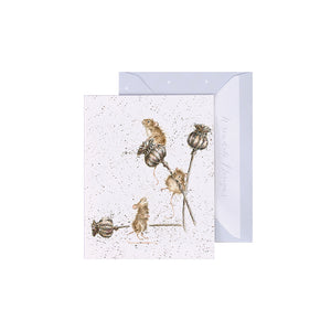 Mini Card - Country Mice