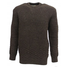 Load image into Gallery viewer, Aran Crew Neck Jumper