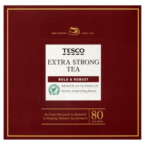 Tesco Extra Strong Tea