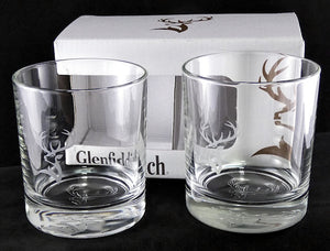 Glenfiddich Scotch Glass - 2 Piece set