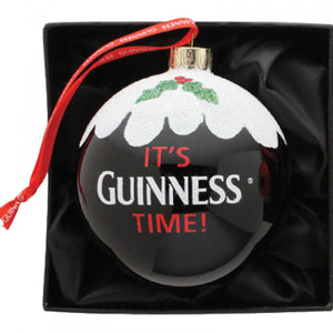 It's Guinness Time Holiday Ornament