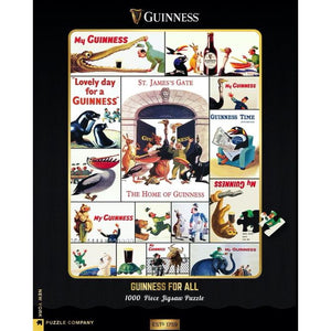 GUINNESS JIGSAW PUZZLE WHO'S G