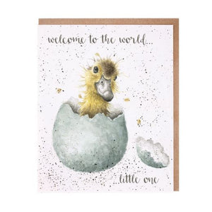 'Little One' New Baby Card