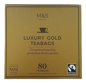 M&S Gold Tea - 80 Bags