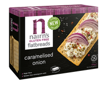 Load image into Gallery viewer, NAIRNS CRACKERS CARAMELISED ON GLUTEN FREE