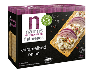 NAIRNS CRACKERS CARAMELISED ON GLUTEN FREE