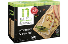 Load image into Gallery viewer, NAIRNS CRACKERS ROSEMARY/SEA S GLUTEN FREE