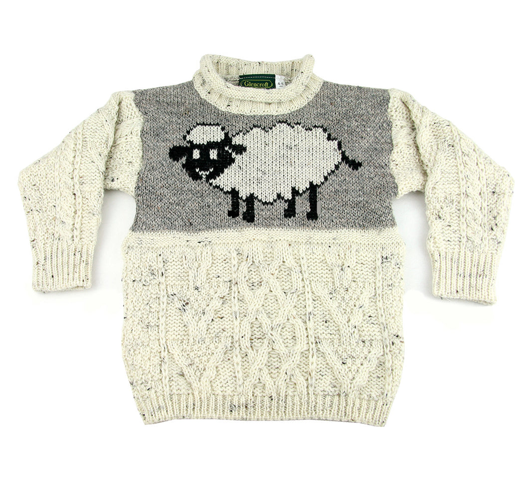 British Wool Children's Sheep Jumper