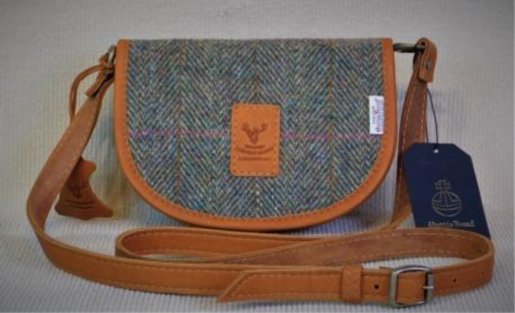 Sally Bag - Harris Tweed & Leather