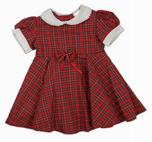 Load image into Gallery viewer, Tartan Dress with Full Circle Skirt in Royal Stewart - 6mths