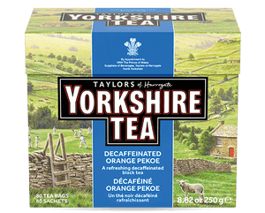 YORKSHIRE TEA DECAF/80'S