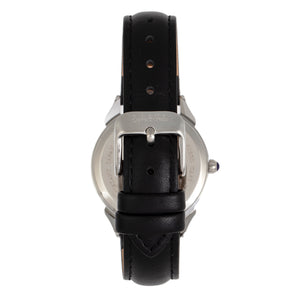 Sophie and Freda Mykonos Mother-Of-Pearl Leather-Band Watch - Black - SAFSF5501