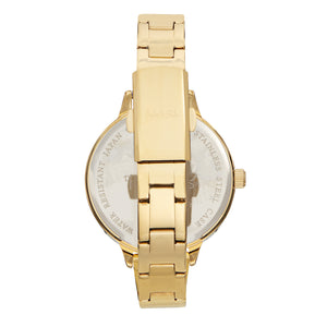 Sophie and Freda Milwaukee Bracelet Watch - Gold/Teal - SAFSF5804