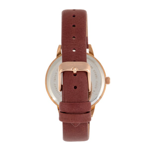 Sophie and Freda Vancouver Leather-Band Watch - Brown - SAFSF4906