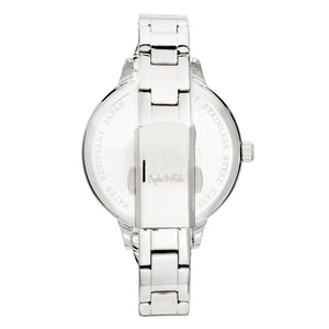 Sophie and Freda Milwaukee Bracelet Watch - Silver/Periwinkle - SAFSF5802