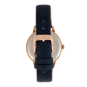 Sophie and Freda Vancouver Leather-Band Watch - Blue - SAFSF4905