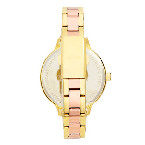 Sophie and Freda Milwaukee Bracelet Watch - Gold/Rose Gold - SAFSF5803