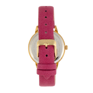 Sophie and Freda Vancouver Leather-Band Watch - Pink - SAFSF4903