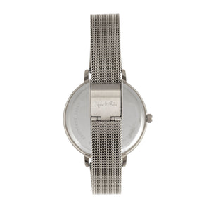 Sophie and Freda Lexington Bracelet Watch - Silver/Turquoise - SAFSF5202