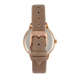 Sophie and Freda Vancouver Leather-Band Watch - Tan - SAFSF4904