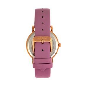 Sophie and Freda Budapest Leather-Band Watch - Pink - SAFSF5005