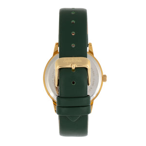 Sophie and Freda San Diego Leather-Band Watch - Green - SAFSF5103