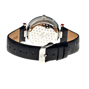 Sophie & Freda Kew Leather-Band Ladies Watch - Black - SAFSF1801